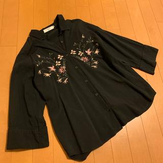 SM2 - ¥5900 春に可愛い 花刺繍 ぶらうす