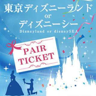 Disney - ディズニーペアチケット 引換券