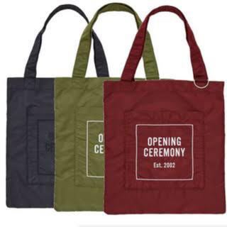 OPENING CEREMONY - OPENING CEREMONY トートバッグ