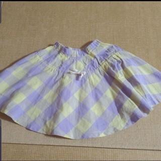 マーキーズ(MARKEY'S)のMARKEY'S  麻混薄手フレアスカート双子①(スカート)