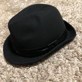 スコットクラブ(SCOT CLUB)のスコットクラブ⭐︎新品⭐︎黒帽子(ハット)
