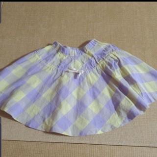 マーキーズ(MARKEY'S)のMARKEY'S  麻混薄手フレアスカート双子②(スカート)