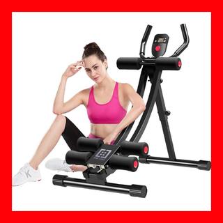 腹筋マシーン ダイエット器具 トレーニング 省スペース 折り畳み エクササイズ