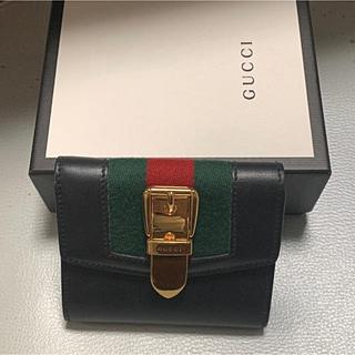 Gucci - GUCCI シルヴィ 三つ折り財布