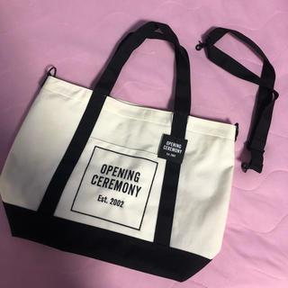 OPENING CEREMONY - オープニングセレモニー ビッグサイズ バッグ 新品未使用