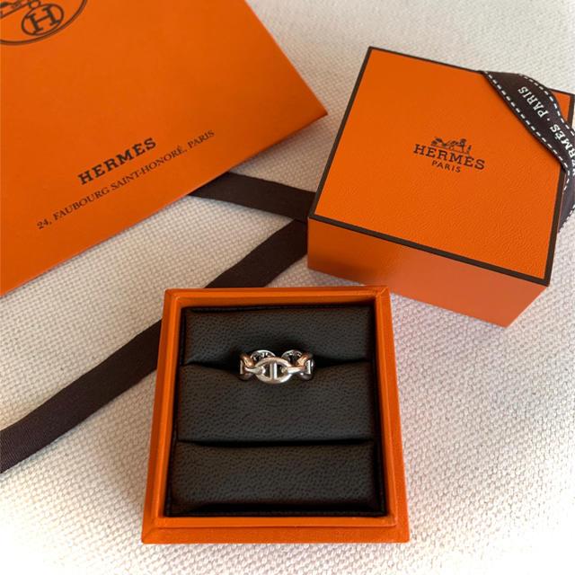 Hermes(エルメス)のHermes 新品 シェーヌ・ダンクル・アンシェネ PM リング 10号 レディースのアクセサリー(リング(指輪))の商品写真