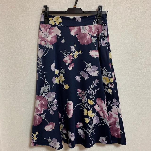MISCH MASCH(ミッシュマッシュ)の新品 ミッシュマッシュ ♡ 花柄フレアスカート レディースのスカート(ひざ丈スカート)の商品写真