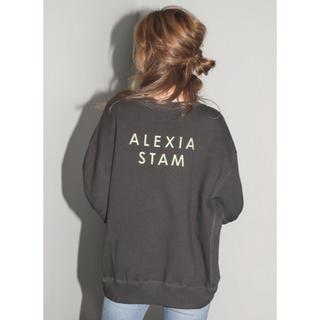 ALEXIA STAM - アリシアスタン スウェット