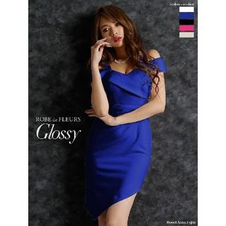 ローブ(ROBE)のローブドフルール グロッシー ワンピース ドレス Sサイズ(ナイトドレス)