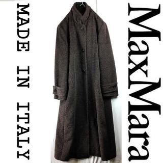 マックスマーラ(Max Mara)のMAXMARA マックスマーラ ロングコート  スタンドカラー アルパカスーリ(ロングコート)