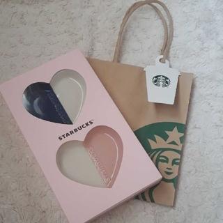 Starbucks Coffee - スターバックス バレンタイン2020 ミニプレートセット