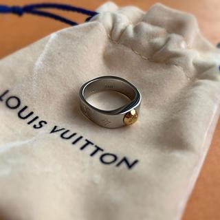 ルイヴィトン(LOUIS VUITTON)のLouis Vuitton 新品 リング ナノグラム シルバー S 日本10号(リング(指輪))