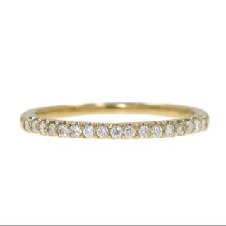 Vendome Aoyama - ヴァンドーム青山 ハーフエタニティ リング K18 ダイヤモンド  指輪 正規品