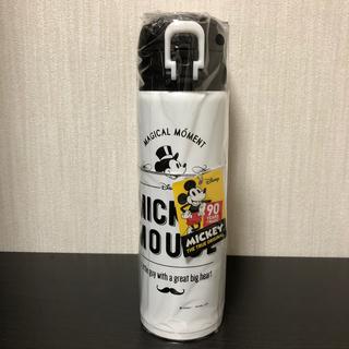 Disney - 軽量ワンタッチパーソナルボトル500ml   ミッキーマウス90thモノクローム
