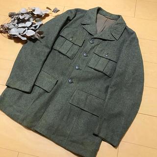 アウター整理価格!スウェーデン軍 40's ウールジャケット