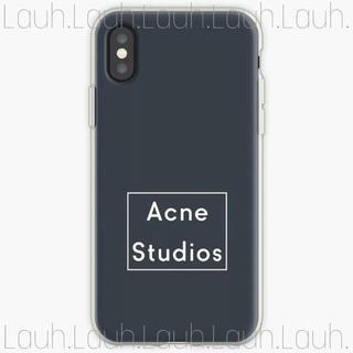 ステュディオス(STUDIOUS)のsaki様専用 a89.Acne logo smartphone case(iPhoneケース)