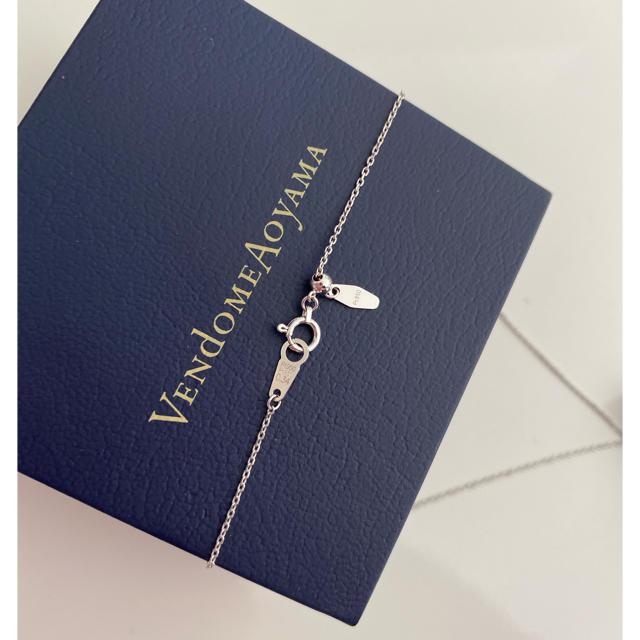 Vendome Aoyama(ヴァンドームアオヤマ)の☆美品☆現行品VENDOMEAOYAMAPt950ダイヤ(0.34)ネックレス  レディースのアクセサリー(ネックレス)の商品写真