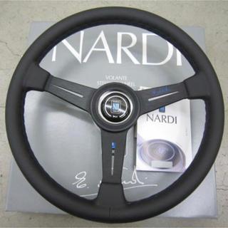 限定200本!ステアリング NARDI N-902 blue logo
