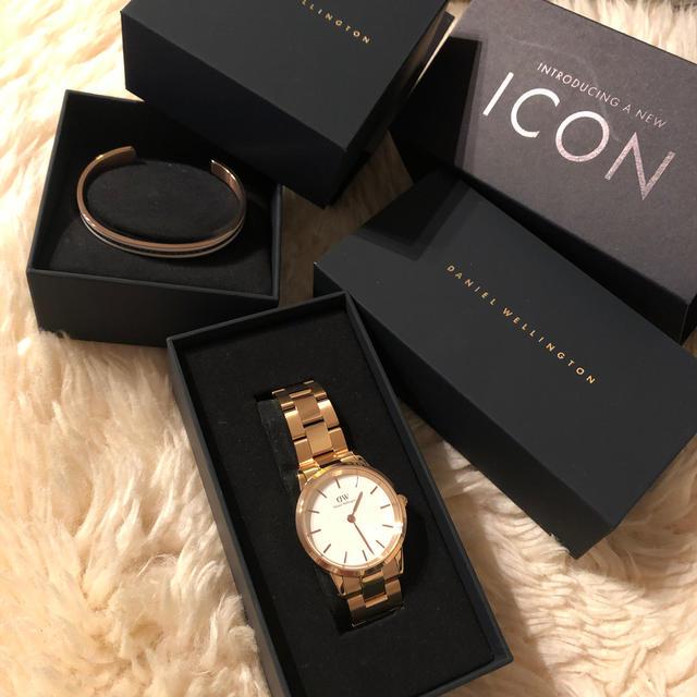 Daniel Wellington(ダニエルウェリントン)の新品 ダニエルウェルトンdaniel wellington 腕時計&ブレスレット レディースのファッション小物(腕時計)の商品写真