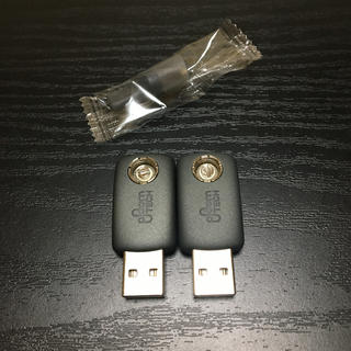 PloomTECH - 13番プルームテック 純正 USBチャージャー2個 おまけマウスピース付き