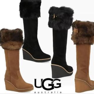 UGG - UGG スウェード ロングブーツ