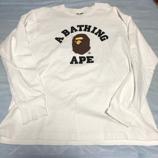 A BATHING APE - A BATHING APE アベイシングエイプ BAPE ロンT カットソー