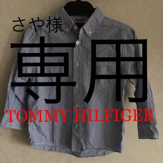 トミーヒルフィガー(TOMMY HILFIGER)のTOMMY HILFIGER トミーヒルフィガー  ストライプシャツ サイズ4(ブラウス)