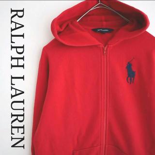 Ralph Lauren - ラルフローレン 赤パーカー 160 大人OK