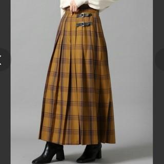 ローリーズファーム(LOWRYS FARM)の《新品》LOWRYS FARM☆チェックキルトスカート(ロングスカート)