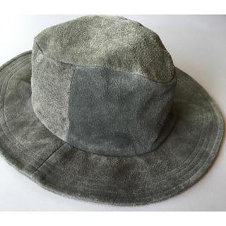 ノンネイティブ(nonnative)のノンネイティブnonnative ハット帽子スエード モスグリーンカーキベージュ(ハット)