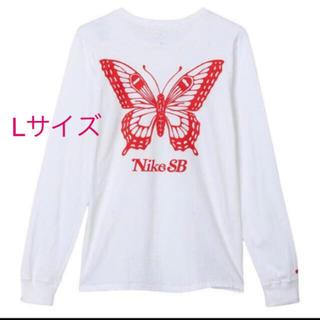 ナイキ(NIKE)の新品未開封 サイズL nike sb girls don't cry ロンT(Tシャツ/カットソー(七分/長袖))