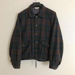 Jieda - JieDa 19aw plaid coach jacket