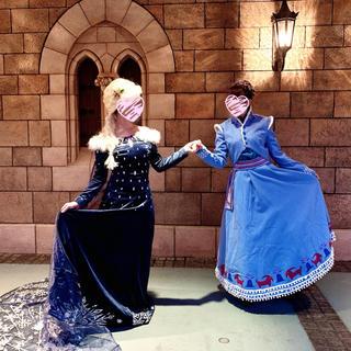 Secret Honey - シーハニカチューシャ付 アナと雪の女王 アドベンチャーアナ・エルサセット