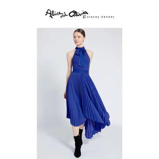 アリスアンドオリビア(Alice+Olivia)の❣️20春新作Alice+Olive アリスオリビアローヤルブルースカート(ひざ丈スカート)