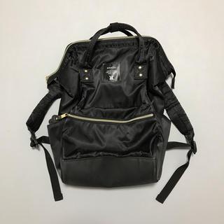 anello - anello ナイロン素材 リュック 黒 ブラック