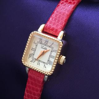 Maison de Reefur - Laditte 赤ベルト 腕時計 ジュピター