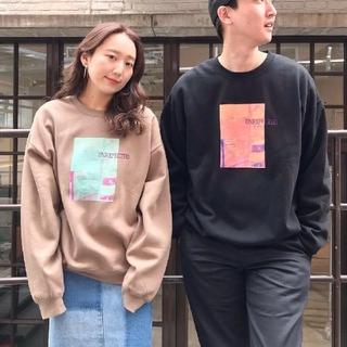 Kastane - フォト裏毛スウェット
