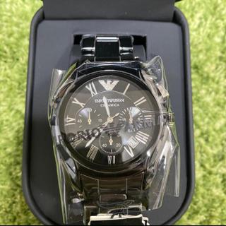 Emporio Armani - 本日のみ!!!アルマーニAR1400 メンズ 腕時計 送料無料