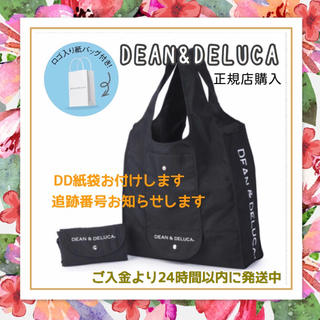 DEAN & DELUCA - ✨紙袋付き✨新品DEAN&DELUCAエコバッグショッピングバッグ黒トートバッグ