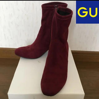 ジーユー(GU)の美品 ☆GU ショートブーツ M (23㎝~23.5㎝程度)(ブーツ)