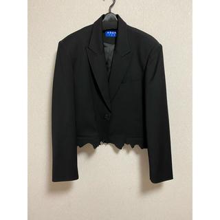 コムデギャルソン(COMME des GARCONS)のader error crop cinder jacket(テーラードジャケット)