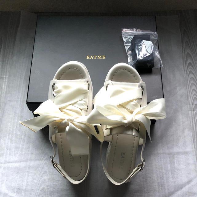EATME(イートミー)の【新品未使用】イートミー レースアップスニーカーサンダル レディースの靴/シューズ(サンダル)の商品写真