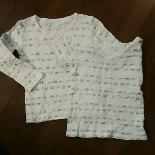 コンビミニ(Combi mini)のあったか肌着 長袖&半袖セット(下着)
