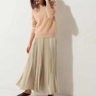 UNITED ARROWS - UNITED ARROWS プリーツ スカート ロングスカート
