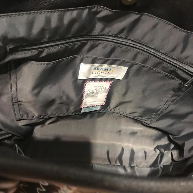 BEAMS(ビームス)の【新品】BEAMS LIGHTS バイカラー イントレチャート トートバッグ メンズのバッグ(トートバッグ)の商品写真