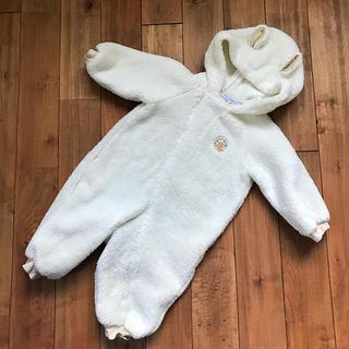 familiar - USED*familia ファミリア ジャンプスーツ 80 カバーオール 防寒