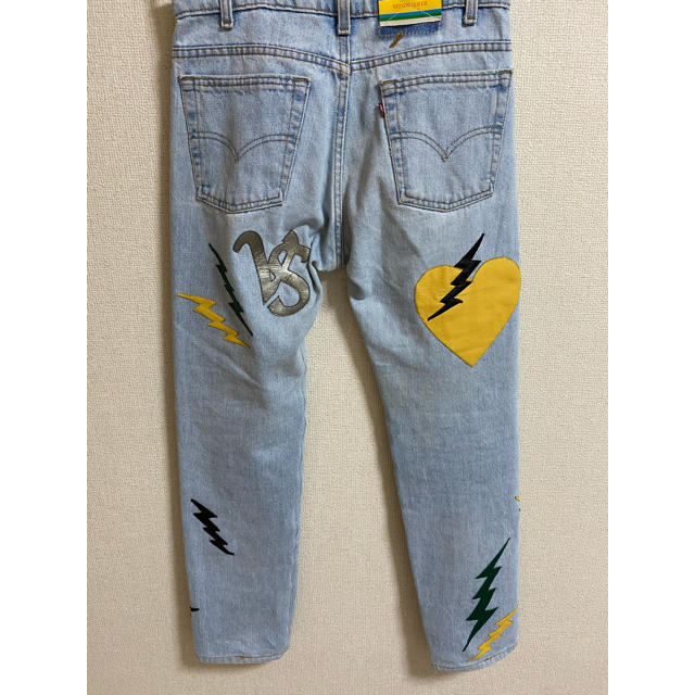 Supreme(シュプリーム)のmindseeker × vstella デニム 世界限定15本 メンズのパンツ(デニム/ジーンズ)の商品写真