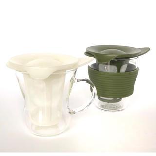 ハリオ(HARIO)のHARIO ティーメーカー 2個セット(グラス/カップ)