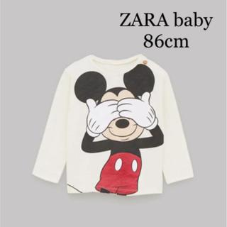 ZARA - 【新品・未使用】ZARA baby  Disney ミッキーマウス Tシャツ