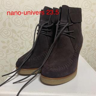 nano・universe - Nano-universe  ナノユニバース ブーツ 23.5